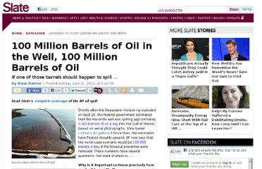 http://www.slate.com/articles/news_and_politics/explainer/2010/06/100_million_barrels_of_oil_in_thewell100_million_barrels_of_oil.html