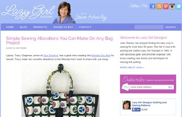 http://www.lazygirldesigns.com/blog/miranda-day-bag-pattern/simple-sewing-alterations