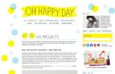 http://ohhappyday.com/category/diy-projects/page/10/