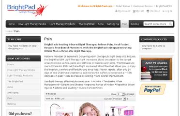 http://www.bright-pad.com/index.php/pain-light-therapy-pain-and-healing.html