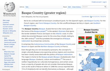 http://en.wikipedia.org/wiki/Basque_Country_(greater_region)
