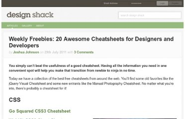 http://designshack.net/articles/freebies/weekly-freebies-20-awesome-cheatsheets-for-designers-and-developers/