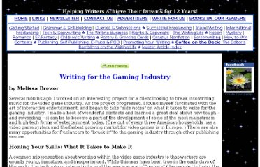 http://www.writing-world.com/freelance/games.shtml