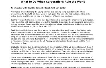 http://theunjustmedia.com/Corporation/What%20to%20Do%20When%20Corporations%20Rule%20the%20World.htm