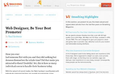 http://www.smashingmagazine.com/2011/10/21/web-designer-be-your-best-promoter/