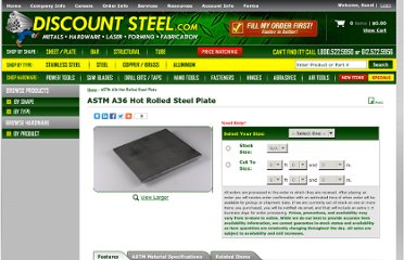 http://www.onlinemetalstore.com/items/A36_Hot_Rolled_Steel_Plate.cfm