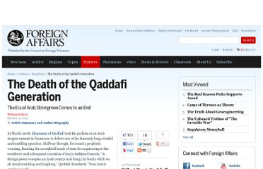http://m.foreignaffairs.com/articles/136603/mohamad-bazzi/the-death-of-the-qaddafi-generation?cid=soc-facebook-snapshots-the_death_of_the_qaddafi_generation-102111
