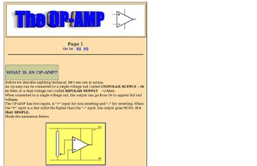 http://talkingelectronics.com/projects/OP-AMP/OP-AMP-1.html