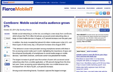 http://www.fiercemobilecontent.com/story/comscore-mobile-social-media-audience-grows-37/2011-10-20