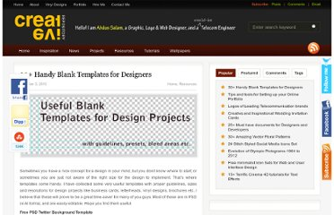 http://creativerepository.com/2010/01/03/30-handy-blank-templates-for-designers/