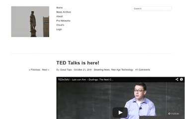 http://cloudnews1.com/2011/10/21/ted-talks-is-here/