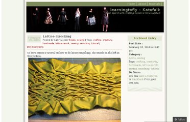 http://katafalk.wordpress.com/2010/02/20/lattice-smocking/