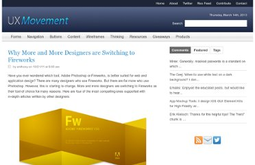 http://uxmovement.com/wireframes/why-more-and-more-designers-are-switching-to-fireworks/