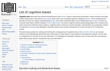 http://rationalwiki.org/wiki/List_of_cognitive_biases