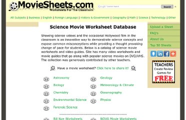 http://moviesheets.com/site/science-movie-sheets.php