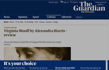 http://www.guardian.co.uk/books/2011/oct/21/virginia-woolf-alexandra-harris-review
