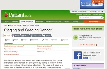 http://www.patient.co.uk/health/Cancer-Staging-and-Grading-Cancer.htm