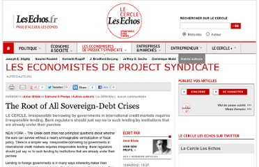 http://lecercle.lesechos.fr/economistes-project-syndicate/autres-auteurs/221136803/the-root-of-all-sovereign-debt-crises