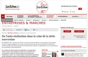 http://lecercle.lesechos.fr/entreprises-marches/finance-marches/finances/221136485/auto-realisation-crise-dette-souveraine