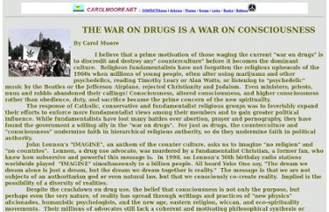 http://www.carolmoore.net/articles/war-on-drugs-article.html