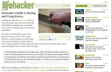 http://lifehacker.com/5350103/gizmodos-guide-to-buying-and-using-knives