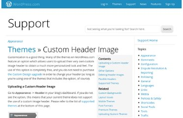 http://en.support.wordpress.com/themes/custom-header-image/