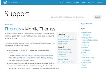 http://en.support.wordpress.com/themes/mobile-themes/