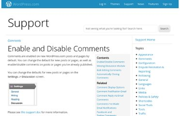 http://en.support.wordpress.com/enable-disable-comments/