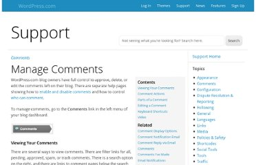 http://en.support.wordpress.com/manage-comments/
