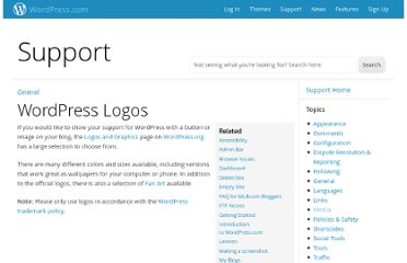 http://en.support.wordpress.com/wordpress-logos/