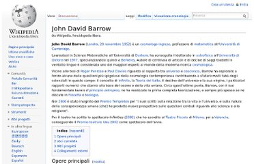 http://it.wikipedia.org/wiki/John_David_Barrow