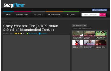 http://www.snagfilms.com/films/title/crazy_wisdom_the_jack_kerouac_school_of_disembodied_poetics