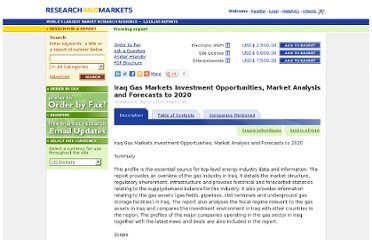 http://www.researchandmarkets.com/reports/898055/iraq_gas_markets_investment_opportunities_market