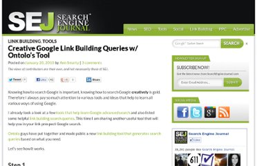 http://www.searchenginejournal.com/get-creative-google-link-building-query-ideas-with-ontolos-tool/16404/