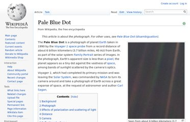 http://en.wikipedia.org/wiki/Pale_Blue_Dot#Reflections_by_Sagan