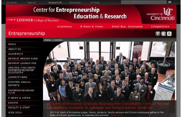 http://business.uc.edu/centers/entrepreneurship.html