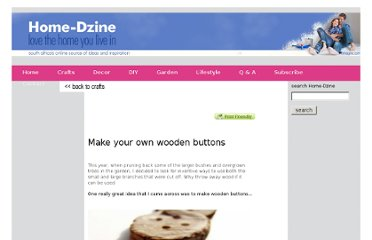 http://www.home-dzine.co.za/crafts/craft-wood-buttons.htm