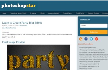 http://www.photoshopstar.com/text-effects/party-text-effect/