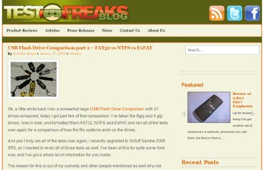 http://blog.testfreaks.com/information/usb-flash-drive-comparison-part-2-fat32-vs-ntfs-vs-exfat/
