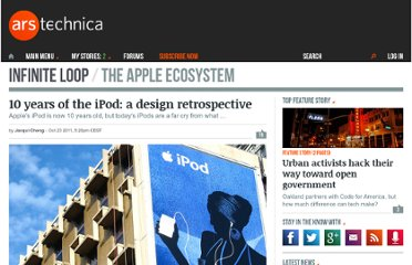 http://arstechnica.com/apple/news/2011/10/10-years-of-the-ipod-a-design-retrospective.ars