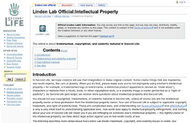 http://wiki.secondlife.com/wiki/Linden_Lab_Official:Intellectual_Property