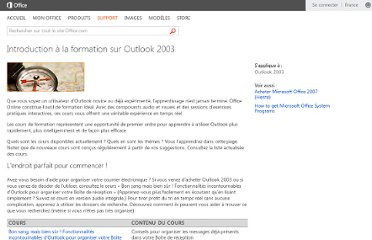 http://office.microsoft.com/fr-fr/outlook-help/introduction-a-la-formation-sur-outlook-2003-HA001116138.aspx