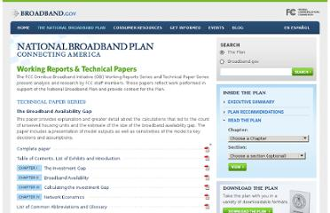 http://www.broadband.gov/plan/broadband-working-reports-technical-papers.html