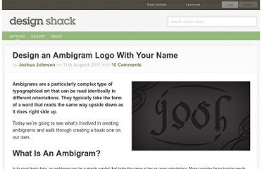 http://designshack.net/articles/graphics/how-to-design-an-ambigram/