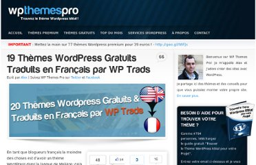 http://wp-themes-pro.com/theme-wordpress-francais/