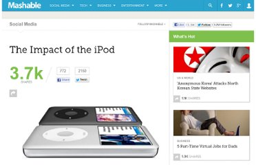 http://mashable.com/2011/10/23/impact-of-ipod/