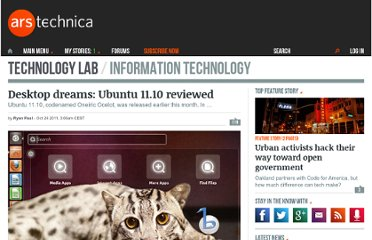 http://arstechnica.com/open-source/reviews/2011/10/desktop-dreams-ubuntu-1110-reviewed.ars