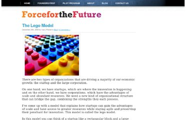 http://forceforthefuture.com/2009/12/the-lego-model/