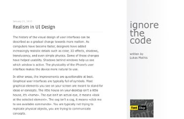 http://ignorethecode.net/blog/2010/01/21/realism_in_ui_design/