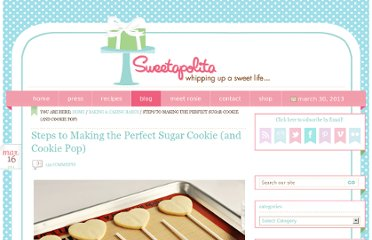 http://sweetapolita.com/2011/03/steps-to-making-the-perfect-sugar-cookie-and-cookie-pop/